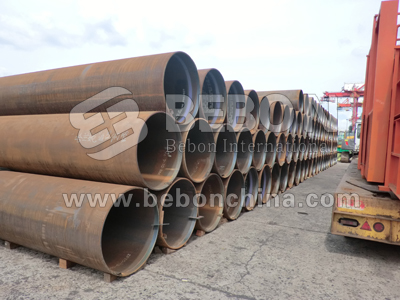 Steel pipe and tube