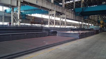 GBT24186 NM450 high strength abrasion resistant steel plates for construction machine
