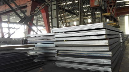 GBT24186 NM400 high strength abrasion resistant steel plates for construction machine