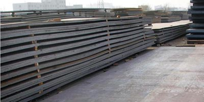 ASTM A 36 steel plate stock