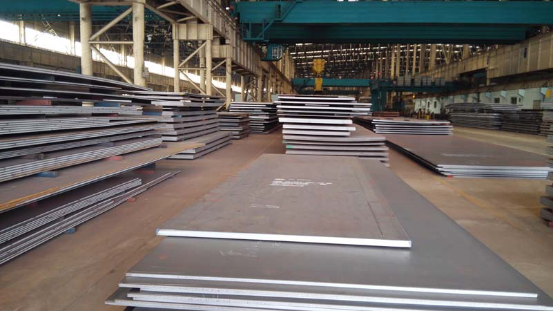 EN10025-6 S550QL Carbon and Low-alloy High-strength Steel Plate