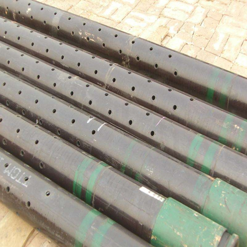 Steel Pipe drilling
