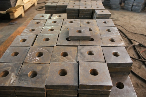 Mechanical components cutting steel