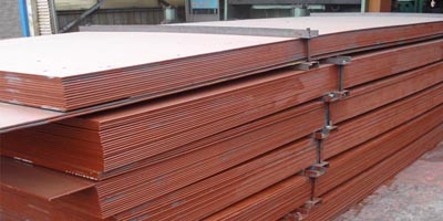 A588 Grade A weather resistance steel plate stock