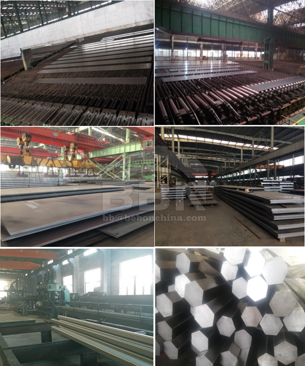 65Mn Steel Plate and 40Cr Hexagon Bar