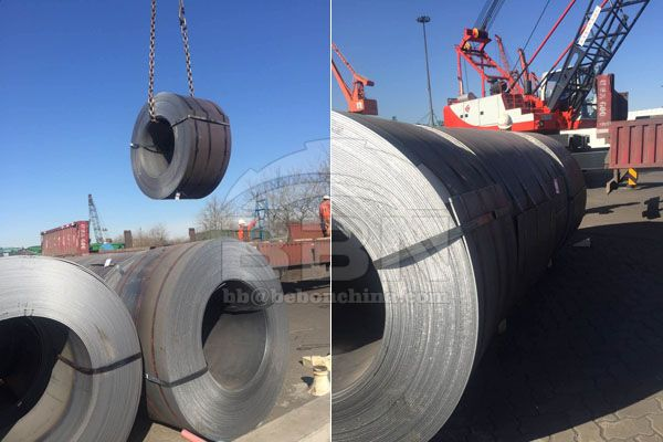 1200 tons API 5L GR.B steel coil to Bangladesh in 2016