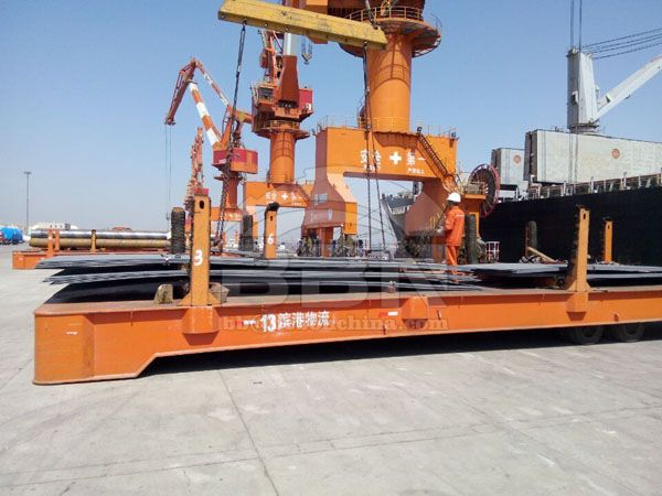 2000 tons ASTM A36 carbon steel plate to Peru in 2015