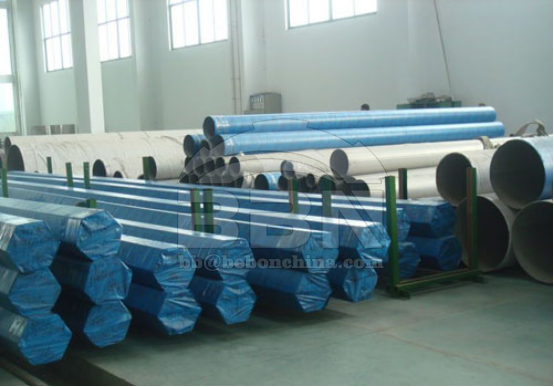 266 ton stainless steel plate and pipe supplied to heat-engine plant equipment in Vietnam