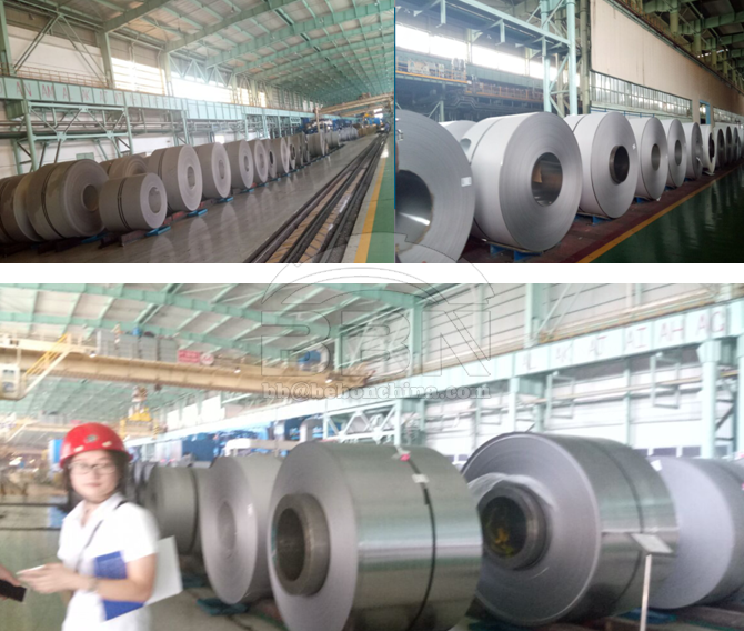 ASTM A240 304L & 316l Stainless Steel Coil