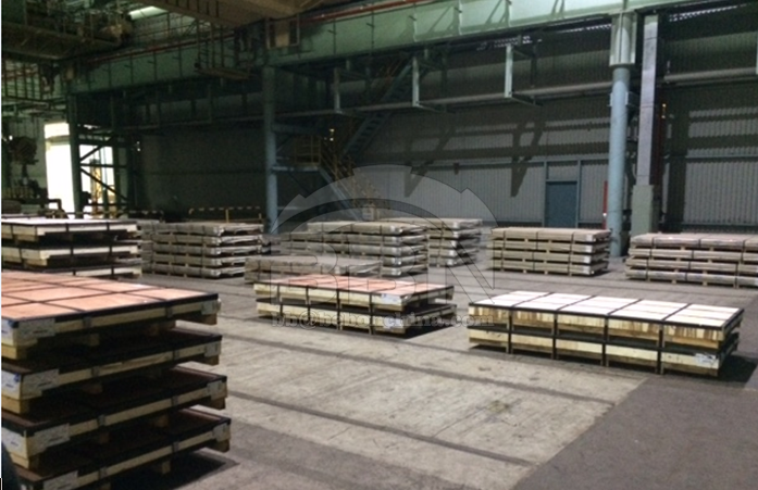 1500 tons ASTM 240 304L stainless steel plate to Tunisia in 2017