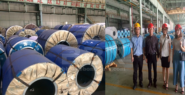 1000 ton 430J1L stainless steel coil to Korea LG Group
