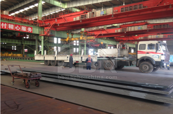 LR A and LR AH36 Steel Plate Supply to Asenav in Peru