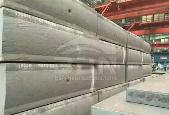 750mm Thickness S355NL Steel Plate Supply to Minsur in Peru