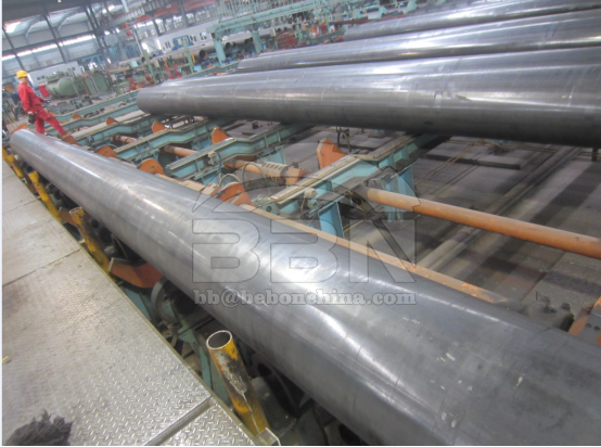 2600 tons API 5L Gr.B ERW steel pipe to BPDB in Bangladesh