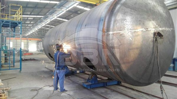 Petroperu Oil Tank Project of A36 and A283GR.C to Peru