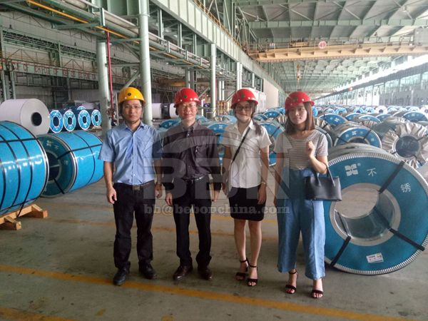 1500 Tons 304l, 310s Stainless Steel Plates to Tunisia