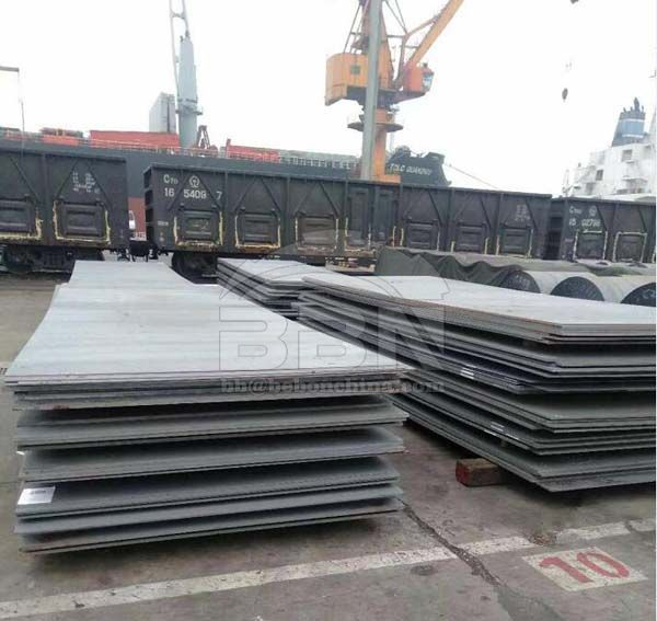 1220 Tons LR A And S275JR Steel Plate To Kenya