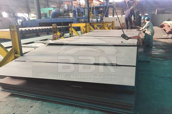 The United Arab Emirates 556 Tons ASTM A36 Steel Plates