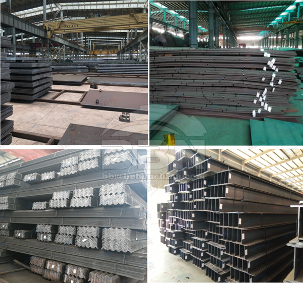 Q235B steel plate and structure