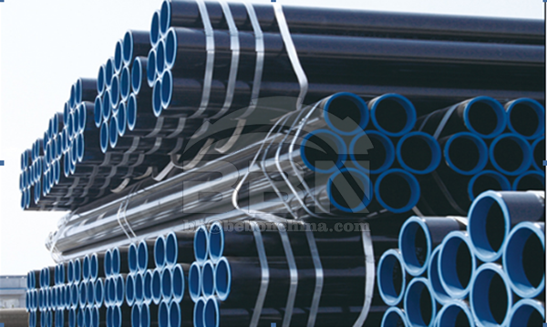 2500 tons ST52-3 seamless pipe to Motor Oil company in Greece for Corinth Refinery project