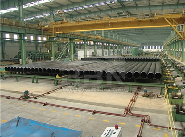 2000 tons Q345B ERW steel pipe for the Prirazlomnoye project in Russia