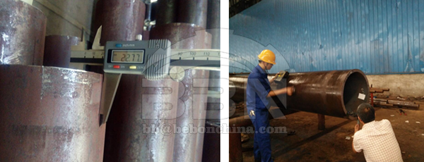 2559 ton 30CrMo Alloy steel pipe to Petro-vietnam in Vietnam