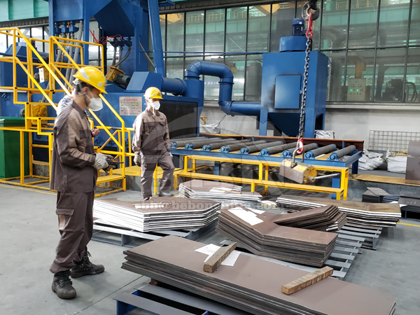 723 Tons wear-resistant steel plate NM400 To Canada