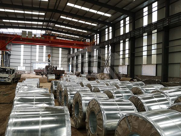 2150 Tons SG295 steel coils to Sudan