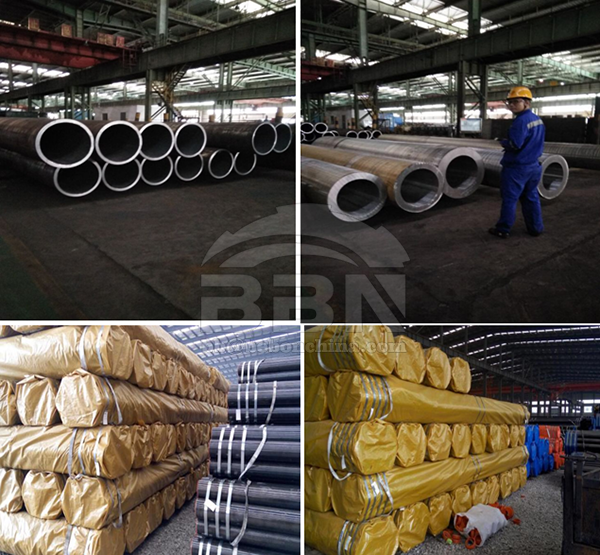 2700 TONS S355J2H SEAMLESS PIPE TO POLAND