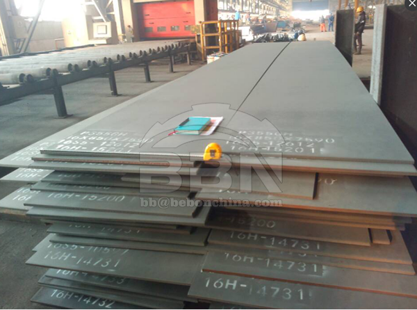 2563 tons P355GH Steel plate to Ameeri IN Bahrain for their Ethanol Plant