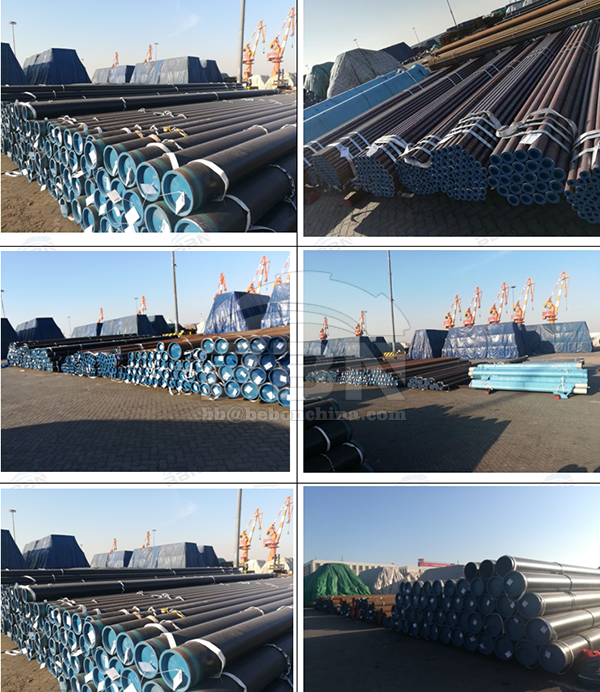 A106B & A333 GR 6 & 304 Seamless Pipes