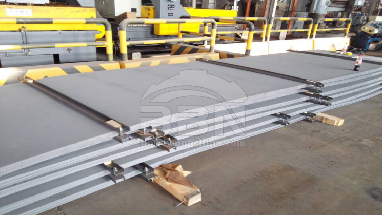 4262 tons ABS-AH36 ship building steel plate to Damman Shipyard in Saudi Arabia