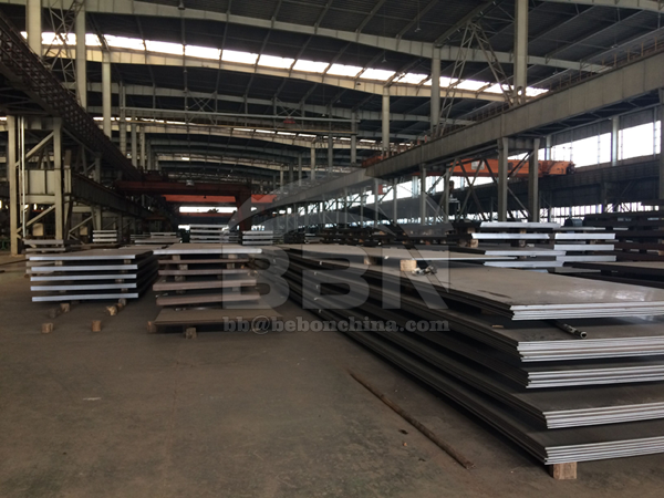 1526 Tons ASTM A36 Steel Plates to Sri Lanka