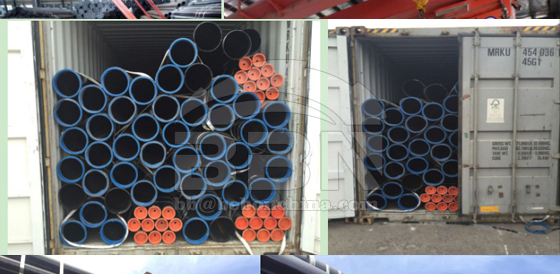 API 5L GrB ERW pipes supplied to Germany