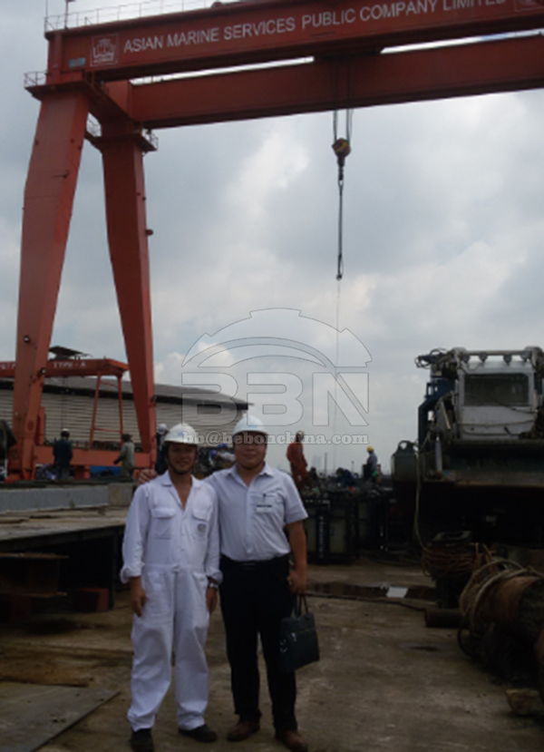 4960 Ton ABS EH36 Steel Plates to Thailand