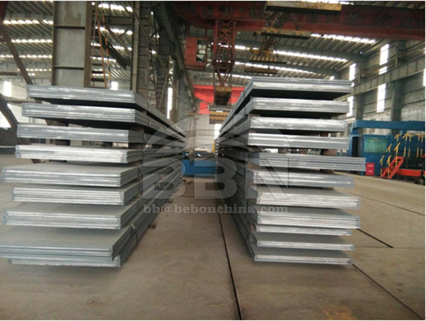 6500 tons SS400 mild steel plates export to South Africa