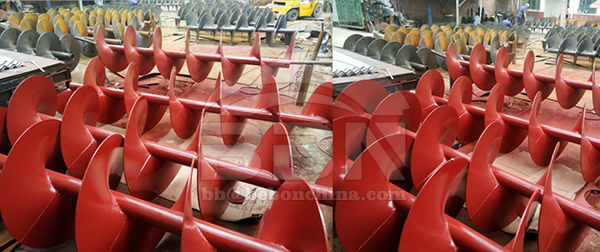A36 CARBON STEEL SCREW RIBBON TO AFRICA