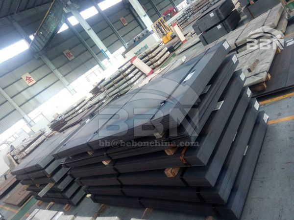2100 tons SG255 Steel Plates to Uganda