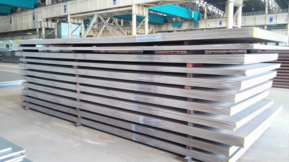 JIS G3106 SM570 steel plate finishing