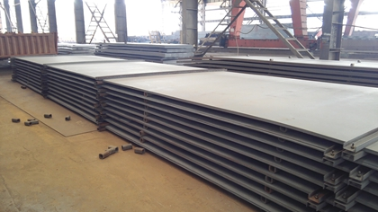 Quality optimization measures of ASTM A283 GR. C hot rolled steel coil plate