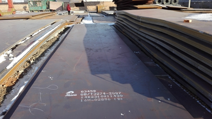 Q345B structural steel plates surface quality should be consistent with the provisions