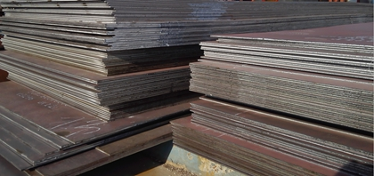 The rust stage of EN10025-5 S355J2W weather resistant steel plates