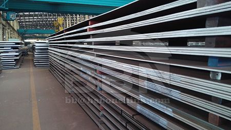 High strength low alloy structural SA588 Grade A carbon steel plate