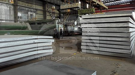 Physical properties of 20MnV steel plate
