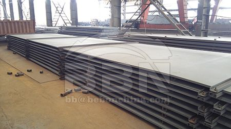 China ABS grade B shipbuilding steel plate price on May 23