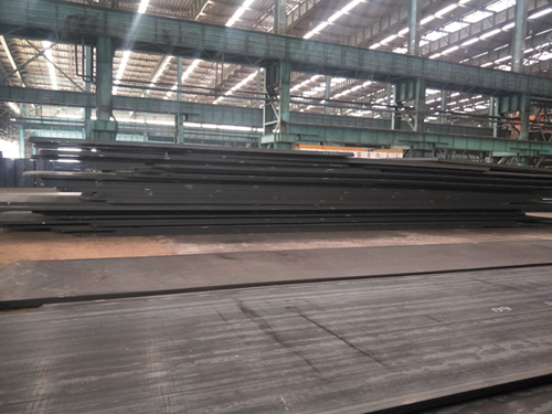 What is the technical data of ASTM A514 steel