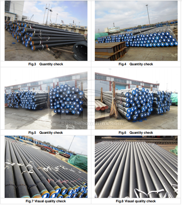 APl 5L X52Q PSL2 3LPE seamless pipes