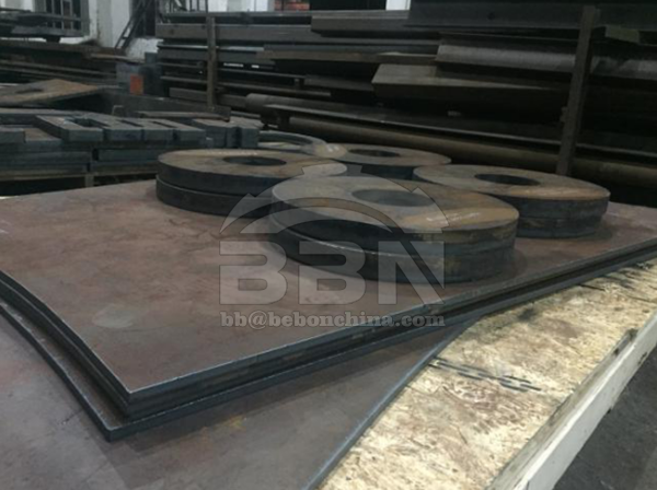 Inspection Report of Q345D+UT Steel plate cutting pieces