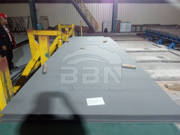 Inspection Report of LR AH36 structural steel plate for hull