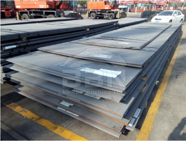 Inspection Report of Q235B steel plates and Q235B flat bars